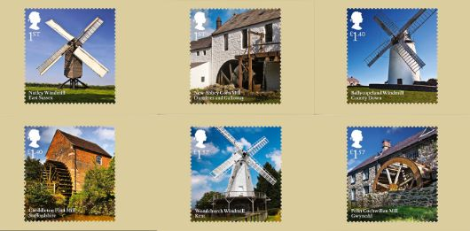 Windmills and Watermills PHQ Card