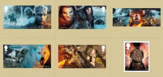 Game of Thrones: Miniature Sheet PHQ Card