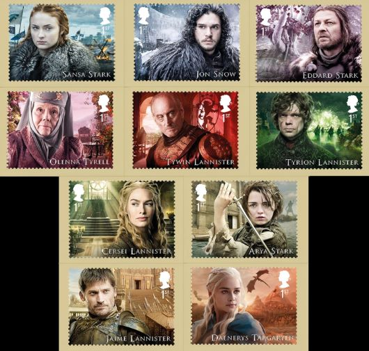 Game of Thrones PHQ Card