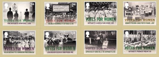 Votes for Women PHQ Card