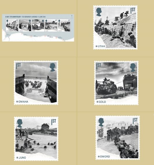 D-Day: Miniature Sheet PHQ Card