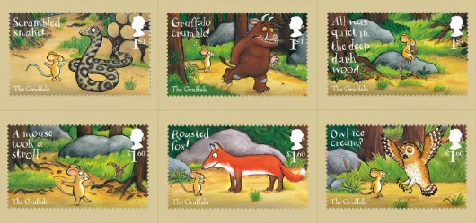 The Gruffalo PHQ Card