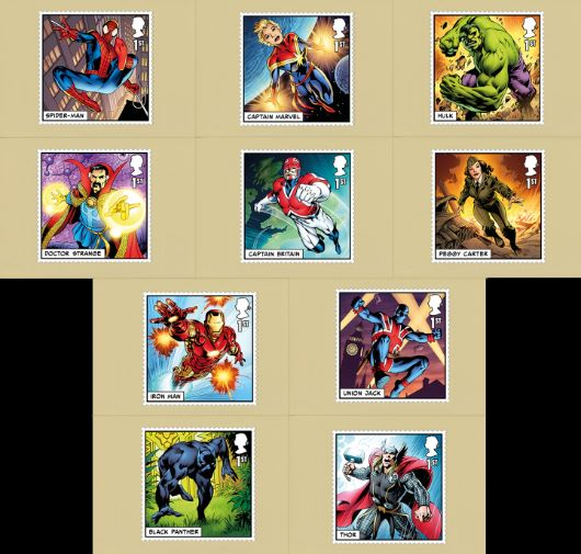 Marvel PHQ Card