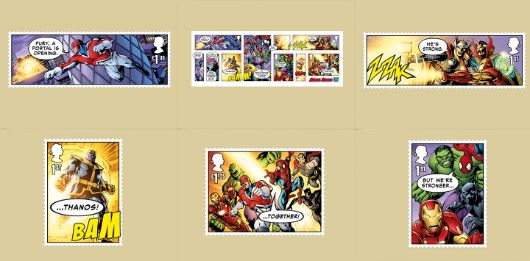 Marvel: Miniature Sheet PHQ Card