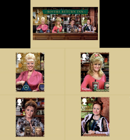 Coronation Street: Miniature Sheet PHQ Card