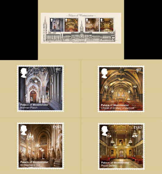 Palace of Westminster: Miniature Sheet PHQ Card
