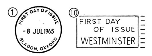 Sir Winston Churchill Postmarks