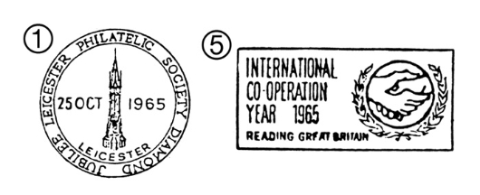 UN & Int. Cooperation Year Postmarks