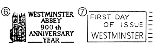 Westminster Abbey Postmarks