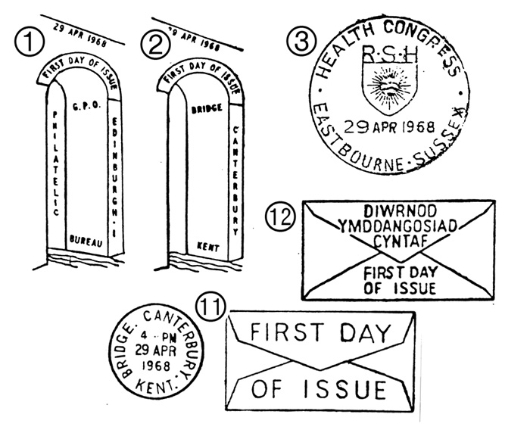 British Bridges Postmarks