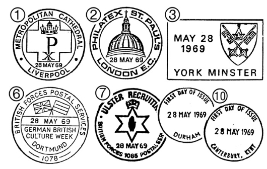 British Cathedrals Postmarks