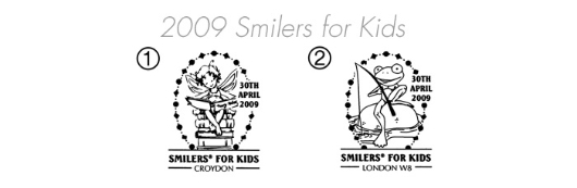Smilers for Kids: [Stamp Set] 2009 Postmarks