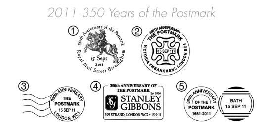 350 Years of the Postmark