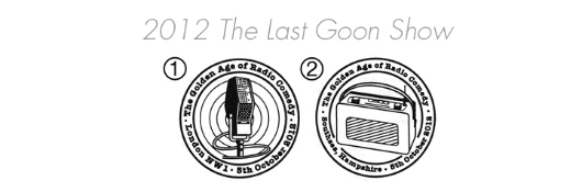 The Goons [Commemorative Sheet] Postmarks