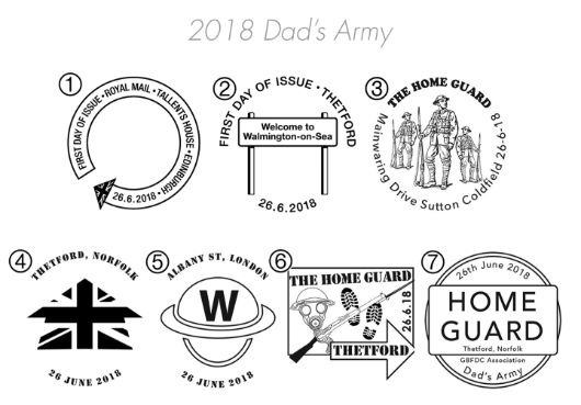 Dad's Army Postmarks