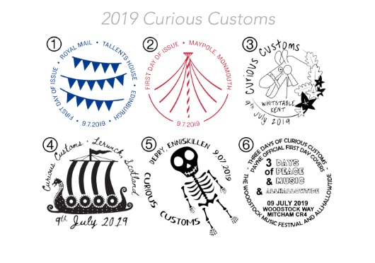 Curious Customs Postmarks
