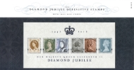 Diamond Jubilee: Miniature Sheet