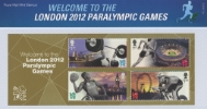 Welcome to the London 2012 Paralympic Games: Miniature Sheet