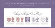 Long to Reign Over Us: Miniature Sheet