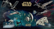 Star Wars: Miniature Sheet [Presentation Card]