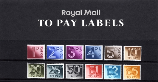 1p to £5 [To Pay Labels] Presentation Pack