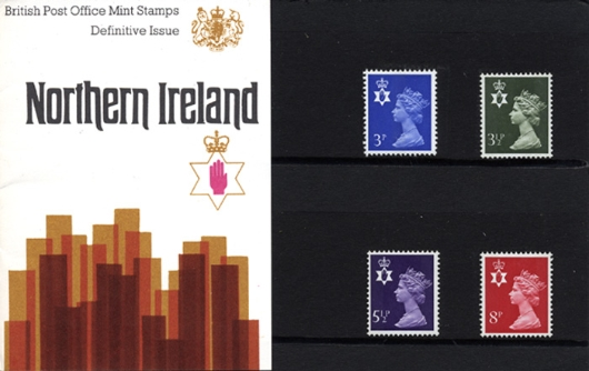Northern Ireland 3 1/2p, 5 1/2p, 8p Presentation Pack