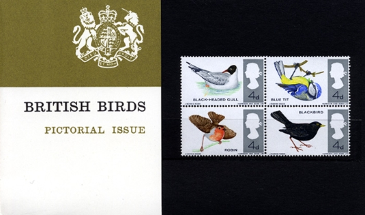 British Birds Presentation Pack
