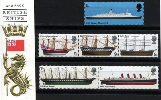British Ships Presentation Pack