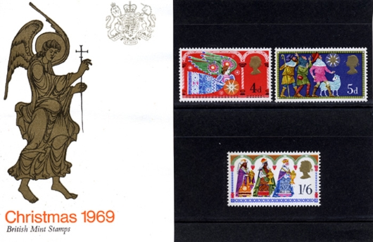 Christmas 1969 Presentation Pack