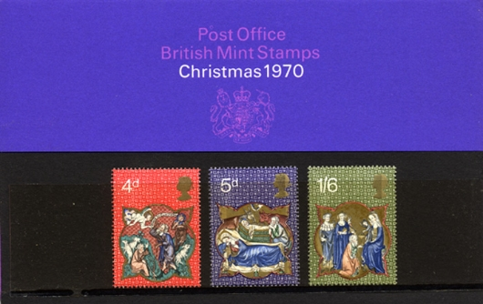 Christmas 1970 Presentation Pack