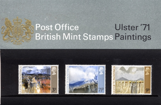Ulster '71 Paintings Presentation Pack