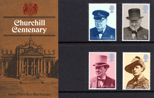 Winston Churchill Presentation Pack