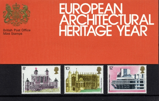 European Architectural Heritage Year Presentation Pack