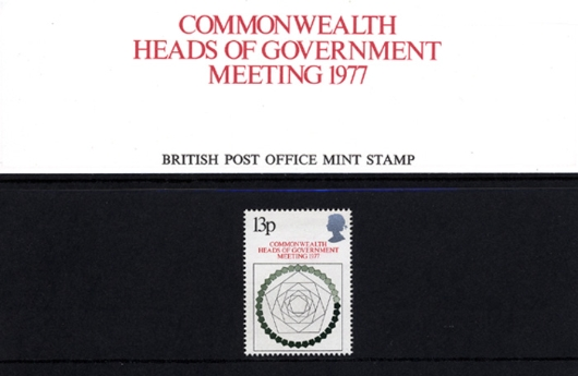 Heads of Government: 13p Presentation Pack