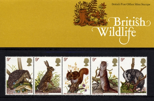 British Wildlife Presentation Pack
