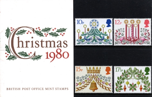Christmas 1980 Presentation Pack