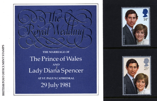 Royal Wedding 1981 Presentation Pack