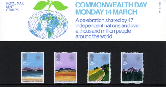 Commonwealth Day Presentation Pack