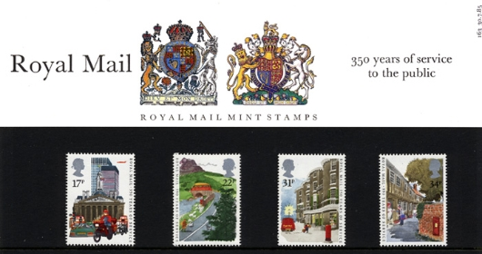 The Royal Mail Presentation Pack