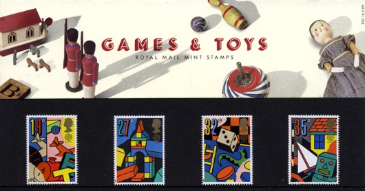 Games & Toys Presentation Pack