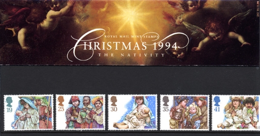 Christmas 1994 Presentation Pack
