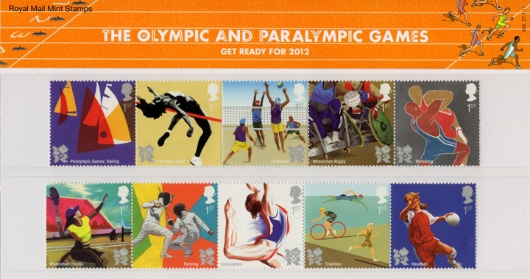 Olympic Games: Series No.3 Presentation Pack