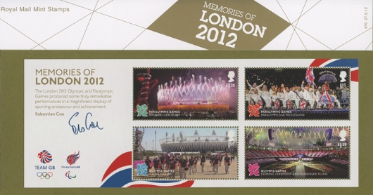 Memories of London 2012: Miniature Sheet Presentation Pack