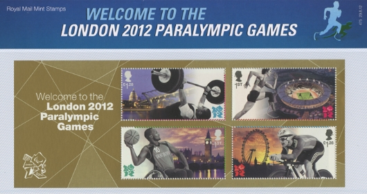 Welcome to the London  Paralympic Games