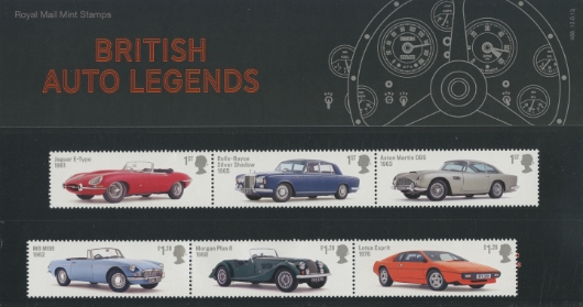 British Auto Legends Presentation Pack