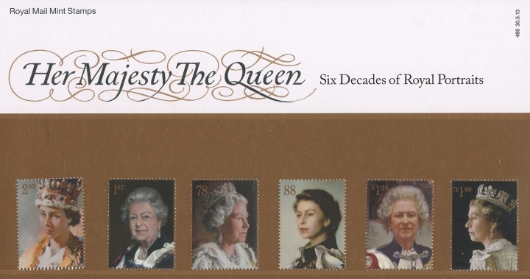 Her Majesty the Queen Royal Portraits Presentation Pack