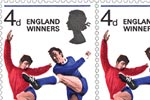 1966 England Winners Complete sheet of 120 England Winners stamps, with Free Wembley FDC.