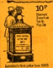 View enlarged 'Stitched: Decimal Values: 10p Pillar Boxes 1 (1855)' Image.