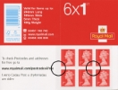 View enlarged 'Self Adhesive: Telephone No. Change: 6 x 1st' Image.