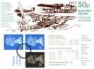 View enlarged 'Vending: New Design: 50p Aircraft 1' Image.